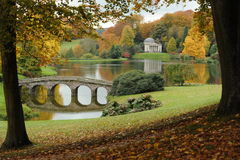 England in the fall Royalty Free Stock Photo