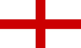 england flagę Fotografia Royalty Free