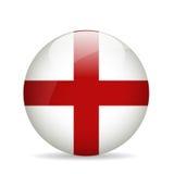 england flagę również zwrócić corel ilustracji wektora Fotografia Stock