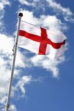England flag. The English cross of St George Stock Photography