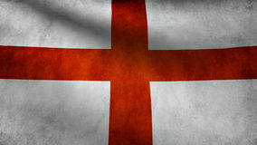 England flag stock video footage