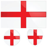 England flag and emblem Royalty Free Stock Image