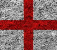 England flag. On white background royalty free stock photo