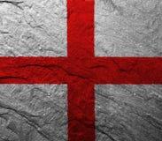 England flag. On white background stock photography
