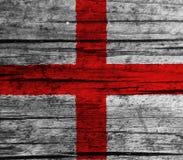 England flag. On white background stock image