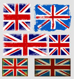 England flag flag collection vector Royalty Free Stock Photo