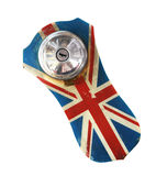 England flag with fuel cap Stock Image