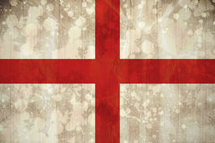 England flag in grunge effect Royalty Free Stock Photo