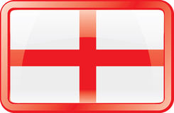 England Flag Icon Stock Photo