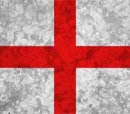 England flag. On white background stock images