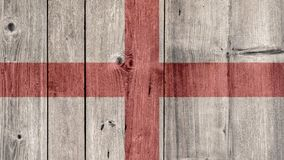 England Flag Wooden Fence. England Politics News Concept: English Flag Wooden Fence stock images