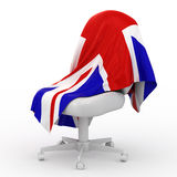 england flaga royalty ilustracja