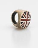 England flage ring on white background Royalty Free Stock Photography