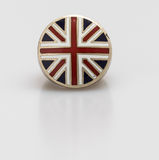 England flage ring on white Royalty Free Stock Photos