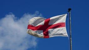 england flagga stock video