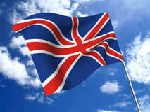 england flagga Royaltyfri Fotografi