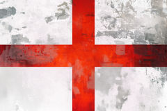 England flagga - grungetextur fotografering för bildbyråer