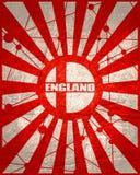 England flaggabegrepp royaltyfria foton
