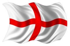 england flagi występować samodzielnie Zdjęcia Royalty Free