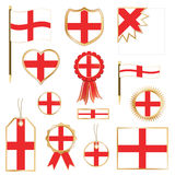 England flags Stock Photos