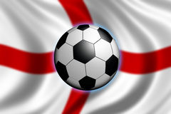 england fotboll Royaltyfria Bilder