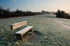 england frostig morgon Arkivbild
