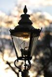 england gas lamp london street uk westminster Στοκ Εικόνες