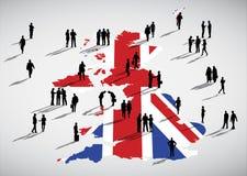 England-Geschäfts-Vektor Stockbilder