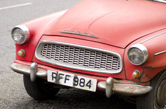 England, London 07/02/2016 Leitartikel Automarke Skoda Mk1 Octavia wurde im Jahre 1959 produziert Stockfotografie