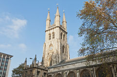 england london saintsepulchre Royaltyfria Bilder