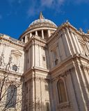 Great Britain London, St Pauls cathedral dome Stock Photos