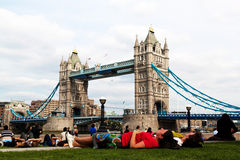 England, london, tower bridge Stock Photography