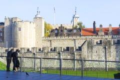 england London wieży Zdjęcia Stock