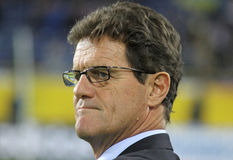 England manager Fabio Capello Royalty Free Stock Photo