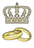England Marriage Royalty Free Stock Photo