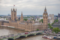 ENGLAND MAY 30TH: View of houses of Parliament 30th May 2014 in Stock Image