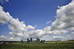 england megalithic monumentstonehenge royaltyfria foton