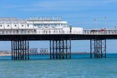 England mola brighton Zdjęcie Royalty Free