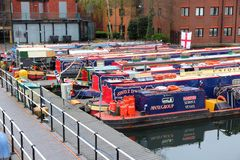 England narrowboats Royalty Free Stock Photo