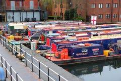 England narrowboats Royalty Free Stock Photo