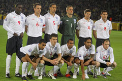 England National Football team Royalty Free Stock Photography