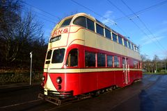 ENGLAND OLD TRAM Royalty Free Stock Images