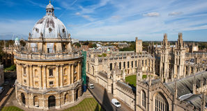 england oxford Royaltyfri Bild