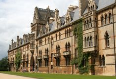 England, Oxford. Christ Church College Royalty Free Stock Image