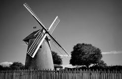 England panienkami Norfolk windmill krajobrazu Zdjęcie Royalty Free