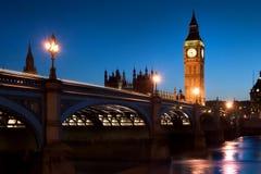 england parlament Royaltyfria Foton