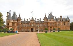 england rezydenci ziemskiej waddesdon fotografia royalty free