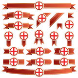 England ribbons Royalty Free Stock Images