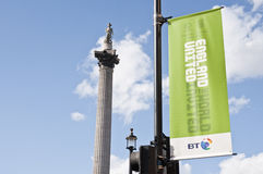 England's bid to host FIFA's 2018 world cup. Stock Photo