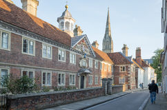 england salisbury Royaltyfria Bilder